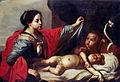 Jean-Guillaume Carlier (attribué), Vierge à l'Enfant avec saint Jean-Baptiste (Musée des Beaux-Arts, Liège).jpg