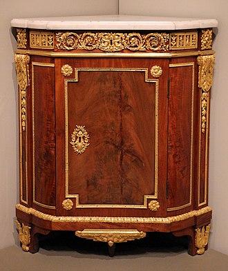 Louis XVI style - Image: Jean henri riesener, angoliera, 1785 ca
