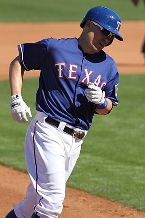Jeff Baker - Baker with the Texas Rangers in 2013