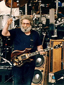 Jerry Garcia at Red Rocks taken 1987-08-11