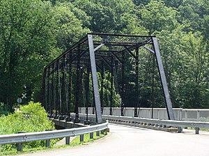 National Register of Historic Places listings in Venango County, Pennsylvania - Image: Jersey Bridge