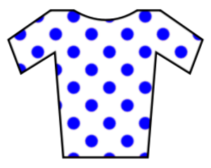 Laurent Pichon - Image: Jersey blue dotted