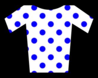 Caja Rural–Seguros RGA - Image: Jersey blue dotted