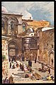 Jerusalem. The Forecourt of the Church of the Holy Sepulchre (NBY 440829).jpg