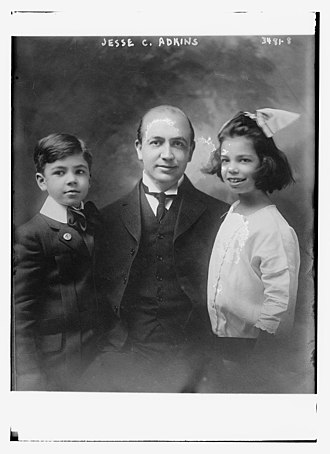 Jesse Corcoran Adkins - Adkins with his children