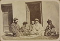 Jewish Wedding Rituals. Meeting of the Bride, Groom, and Their Families, before the Marriage WDL10710.png