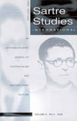 Sartre Studies International - Image: Jnl cover sartresi
