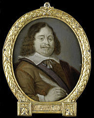 Portrait of Joannes Cools (born 1611), Jurist, Historian and Latin Poet in Hoorn