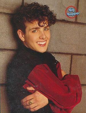 Joey McIntyre - McIntyre, aged seventeen in 1990