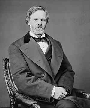 1880 Republican National Convention - A photograph of John Sherman taken while he was the United States Secretary of the Treasury