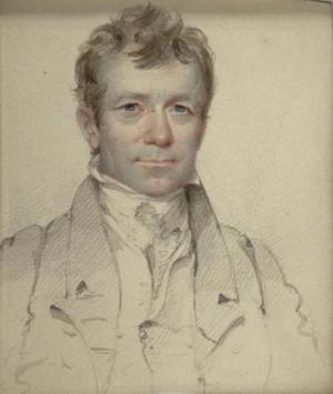 John Wesley Jarvis - John Wesley Jarvis, by Henry Inman, 1822