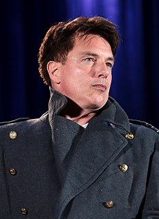 John Barrowman Scottish-American actor, singer, dancer, musical theatre performer, writer and television personality