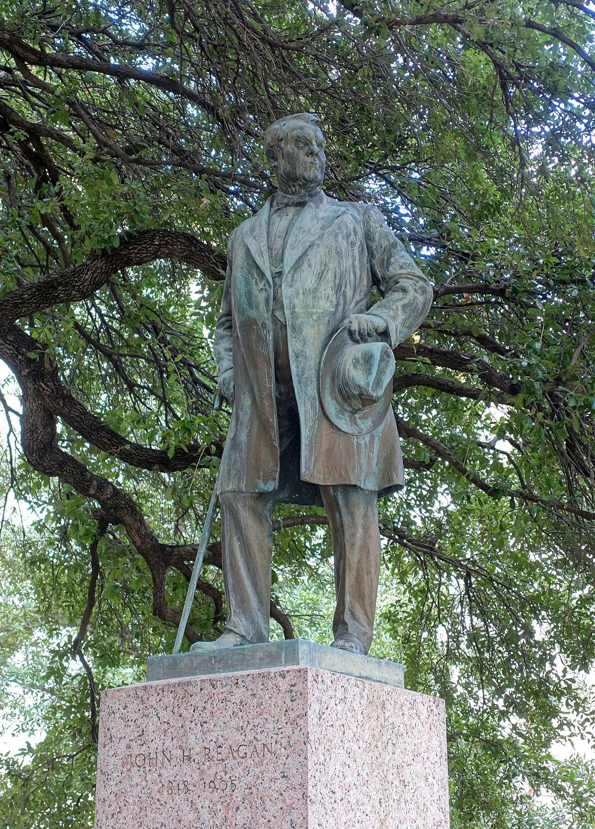 Statue Of John Henninger Reagan Wikipedia
