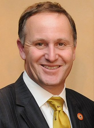 New Zealand general election, 2011 - Image: John Key headshot