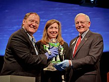 ... Director Of Toy Story And Toy Story 2, NASA Deputy Administrator Lori  Garver, And Gen. J.R.