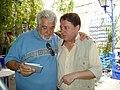 José Antonio Navalón con Paco Liria, La Carbonería 2006.jpg