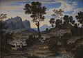 Joseph Anton Koch - Landscape from Civitella near Olevano - KMS554 - Statens Museum for Kunst.jpg