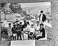 Josephine Baker met pleegkinderen op vakantie in Spanje, Bestanddeelnr 922-6298.jpg