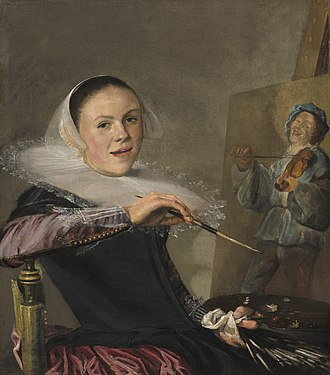 Judith Leyster - Self-Portrait, c. 1630, National Gallery of Art