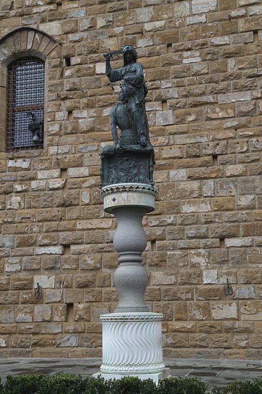 JDonatello,, Judith en Holofernes, Piazza della Signoria, Firenze