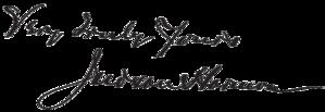 Judson Harmon - Image: Judson Harmon signature