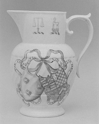 Coalport porcelain - Image: Jug MET 142757