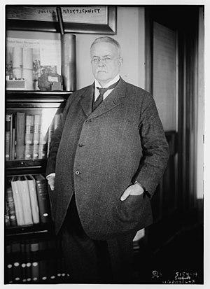 Julius Kruttschnitt - Kruttschnitt in 1920