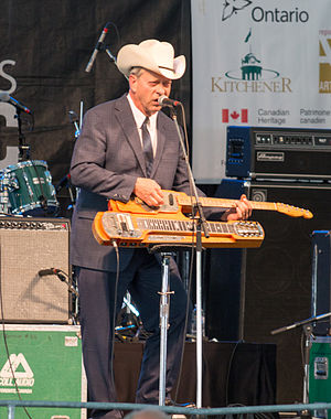 Junior Brown - Junior Brown performing at the 2014 Kitchener Blues Festival