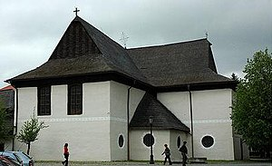 Wooden churches of the Slovak Carpathians - Articular wooden church in Kežmarok