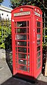 K6 Telephone Kiosk outside Christ Church churchyard, Spitalfields.jpg