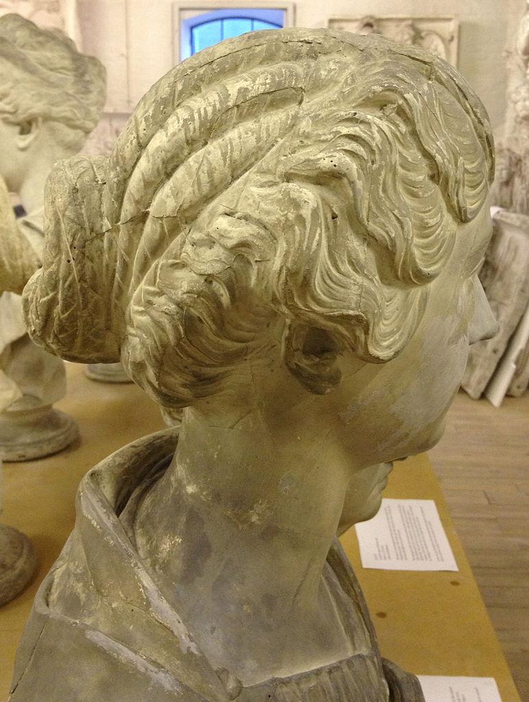 Затылки и темечки древних римлянок