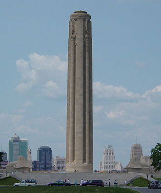 The Day After - The Liberty Memorial in downtown Kansas City, Missouri was an important but hard-to-reach location in The Day After.