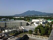 KEK and Mt Tsukuba.jpg