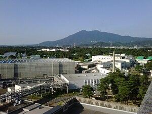 KEK - Image: KEK and Mt Tsukuba
