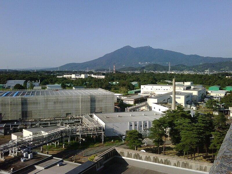 File:KEK and Mt Tsukuba.jpg