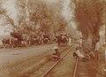 KITLV - 152201 - Kurkdjian - Ox cart transportation of sugarcane in Java - 1921.tif
