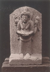 KITLV 87672 - Isidore van Kinsbergen - Hindu-Javanese sculpture coming from the Dijeng plateau - Before 1900.tif