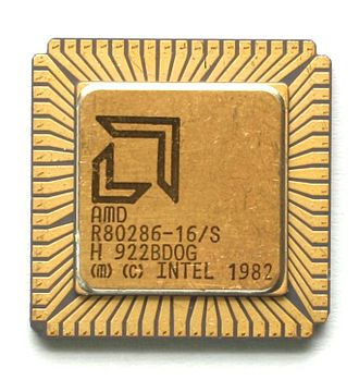 Intel 80286 - AMD 80286 (16 MHz version)