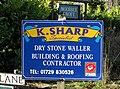 K Sharp, Dry Stone Waller - geograph.org.uk - 1046608.jpg