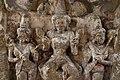 Kailasanatha Temple, dedicated to Shiva, Pallavve period, early 7th century, Kanchipuram (57) (36787459273).jpg
