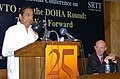 Kamal Nath addressing at the inauguration of the International Conference on 'WTO and the Doha Round The Way Forward', organised by the Indian Council for Research on International Economic Relations (ICRIER).jpg