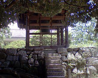 Kanzeon-ji - Kanzeon-ji's Nara period bell, a National Treasure
