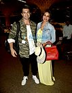 Karan Singh Grover & Bipasha Basu depart for their honeymoon in Maldives.jpg