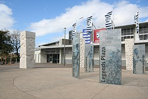 Kardinia Park - 'Legends Plaza' at the entry to the stadium