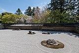 Kare-sansui zen garden, Ryōan-ji, Kyoto 20190416 1.jpg