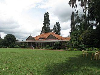 Karen Blixen - Blixen's African home, now the Karen Blixen Museum
