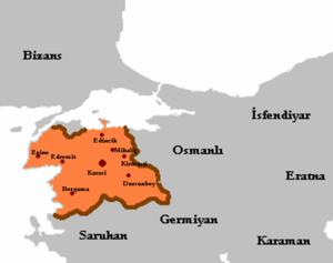 Sanjak of Karasi - Image: Karesi beyliği