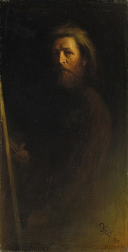 Karl Wilhelm Diefenbach Selbstbildnis 1895