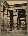 Karnak. Temple du Ramessés IV, intérieur. Egypte - Bonfils ; F. Bonfils. LCCN2004667886.jpg