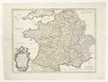 Karta över Frankrike, från 1678 - Skoklosters slott - 97957.tif